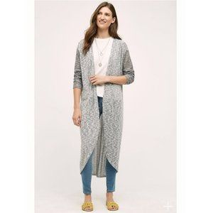 Anthropologie Postmark Dropstitch Duster Cardigan